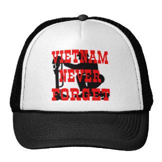 Soldiers Cross Vietnam Never Forget Trucker Hats