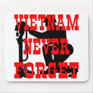 Soldiers Cross Vietnam Never Forget Mouse Pads