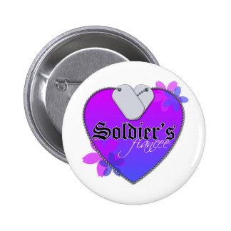 Soldier's Fiancee 6 Cm Round Badge