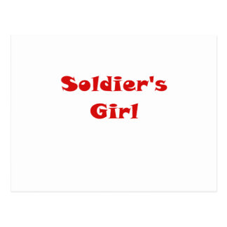 Soldiers Girl Post Cards