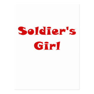 Soldiers Girl Postcards