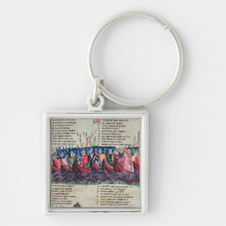 Soldiers in their Ships Keychains