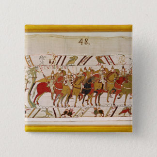 Soldiers leaving Hastings to do battle with 15 Cm Square Badge