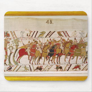 Soldiers leaving Hastings to do battle with Mouse Mat