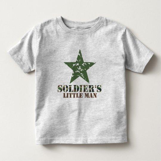 Soldier's Little Man Toddler T-Shirt