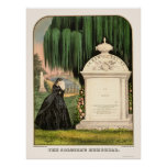 Soldier's Memorial by  1863 Poster