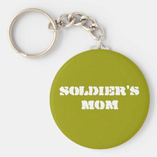 """""""Soldier's Mom"""" Keychain"""