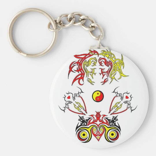 Soldiers of Love Basic Round Button Key Ring