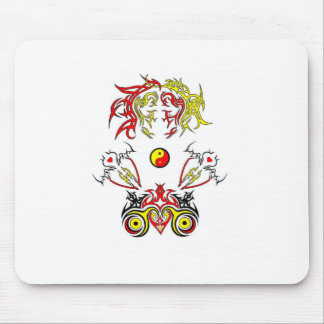 Soldiers of Love Mouse Pad