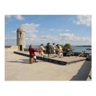 Soldiers of the Castillo de San Marcos Postcard