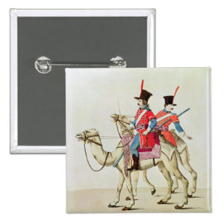 Soldiers of the Dromedary Regiment, 1839 15 Cm Square Badge