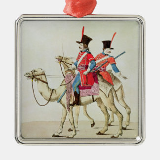 Soldiers of the Dromedary Regiment, 1839 Silver-Colored Square Decoration