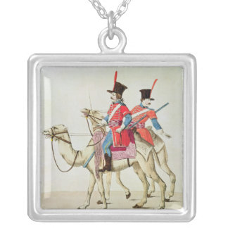 Soldiers of the Dromedary Regiment, 1839 Silver Plated Necklace