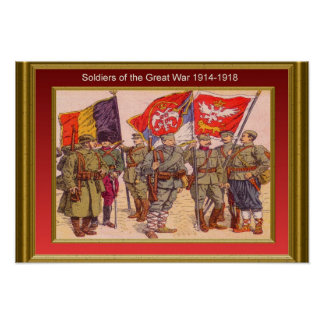 Soldiers of the Great War, 1914-1918 11 Posters