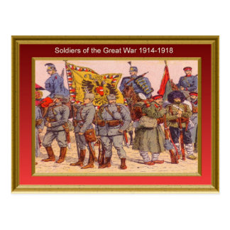 Soldiers of the Great War 1914-1918 5 Postcard