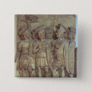 Soldiers of the Praetorian Guard, relief 15 Cm Square Badge
