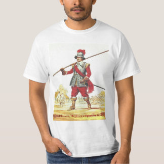 Soldiers of the Queen, Pikeman Hepburn's Regiment Tee Shirts