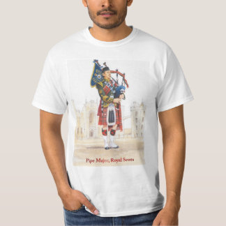 Soldiers of the Queen, Pipe Major, Royal Scots Tshirts