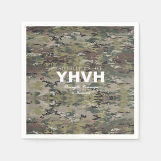 SOLDIERS OF YHVH Christian Disposable Serviettes