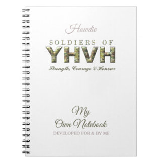 SOLDIERS OF YHVH Christian Notebook