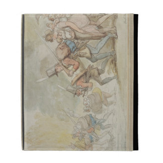 Soldiers on a March, 1805 (pen & ink and watercolo iPad Folio Cases