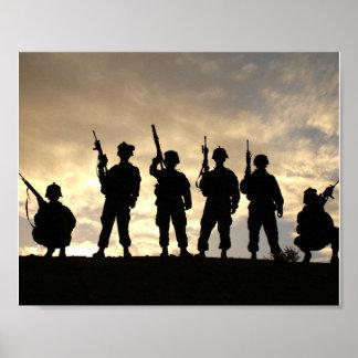 Soldiers on Patrol Print