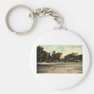 Soldiers Place, Buffalo NY 1908 Vintage Key Chains