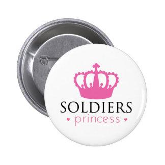 Soldiers Princess 6 Cm Round Badge