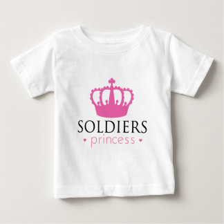 Soldiers Princess Baby T-Shirt