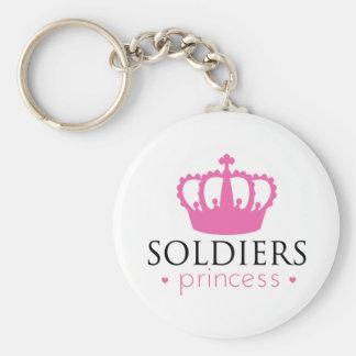 Soldiers Princess Key Ring