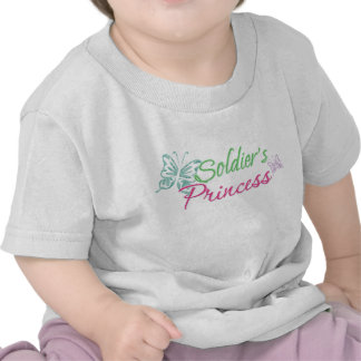 Soldier's Princess Tshirts