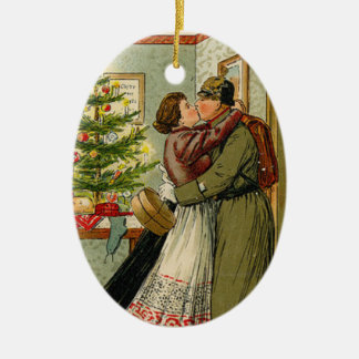 Soldier's Return for Weihnachten Christmas Ornament