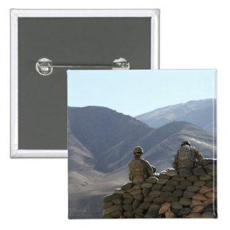soldiers run communications equipment 15 cm square badge