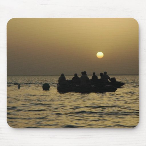 Soldier's Silhouette 12 Mousepad