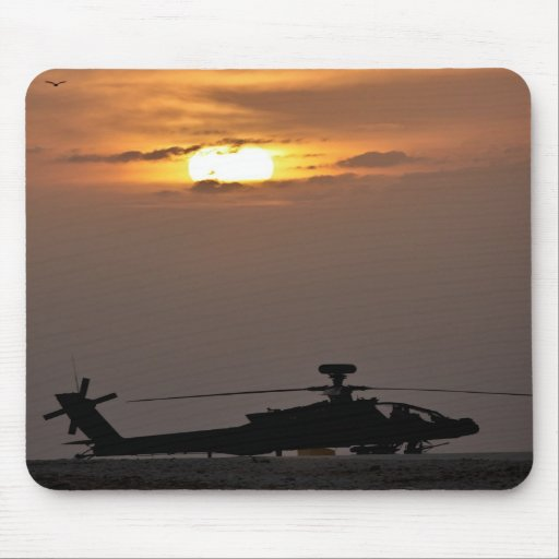 Soldier's Silhouette 21 Mouse Pad