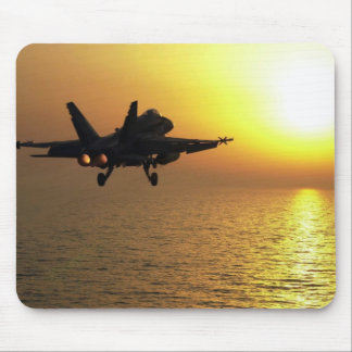Soldier's Silhouette 24 Mousepad