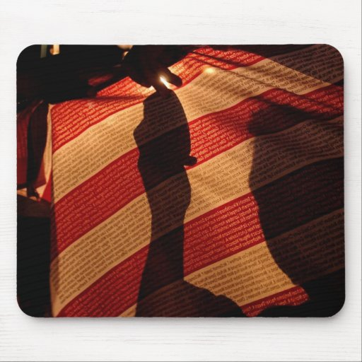 Soldier's Silhouette 6 Mousepads