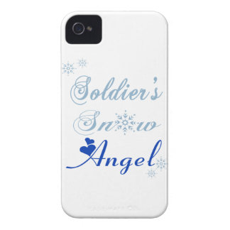 Soldier's Snow Angel Blackberry Bold Case