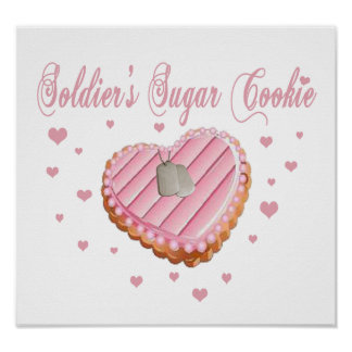 Soldier's Sugar Cookie Poster