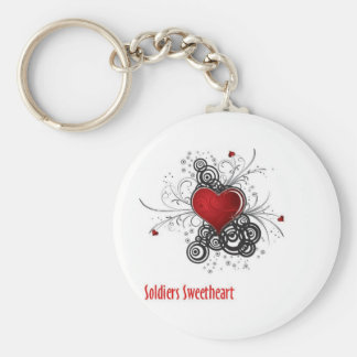 Soldiers Sweetheart Key Chain