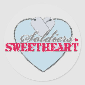 Soldiers Sweetheart Sticker