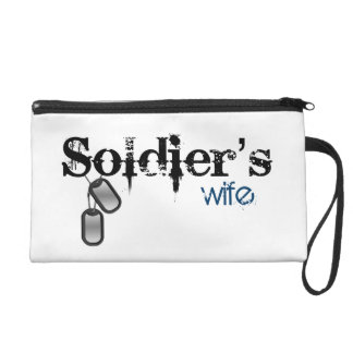 Soldier's Wife Wristlet Purses
