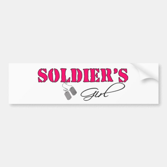 SoldiersGirl Bumper Sticker