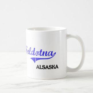 Soldotna Alaska City Classic Basic White Mug