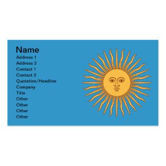 Soleil Sun Pack Of Standard Business Cards