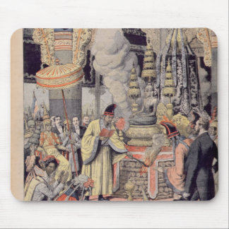 Solemn cremation of King Norodom I Mouse Mat