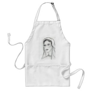 Solemn Mary Aprons