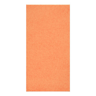 solid03 LIGHT ORANGE PEACH SOLID COLOR DIGITAL WAL Photo Card Template