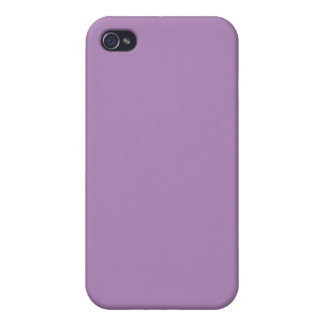 Solid African Violet Purple iPhone 4/4S Case