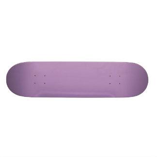 Solid African Violet Purple Skateboard Decks